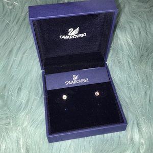 Swarovski Crystal Stud earrings NWT